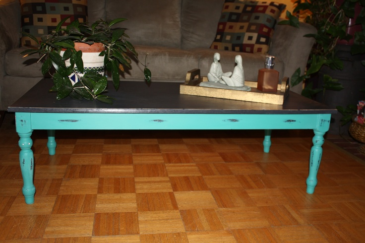 Coffee table - ASPC Graphite and Florence