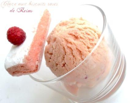 Glace aux Biscuits Roses de Reims : la recette facile