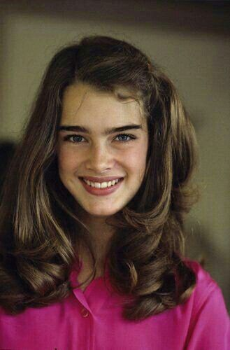 Brooke Shields in a photo by Gary Lewis, 1978.