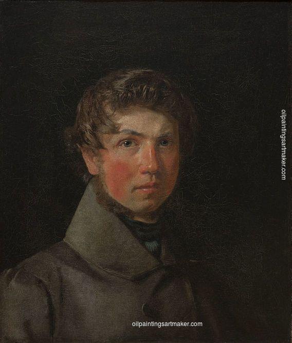 Christen Kobke Self-Portrait
