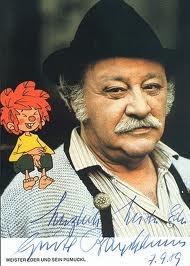 Meister Eder und Sein Pumuckl Gustl Bayrhammer (* 12. Februar 1922 in München; † 24. April 1993 in Krailling)