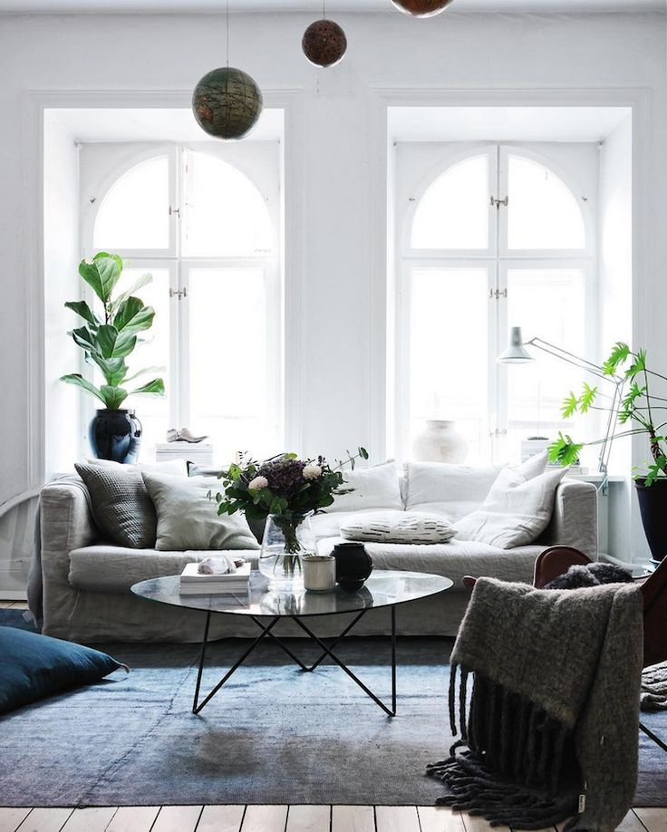 my scandinavian home: Cosy sitting room in a Swedish Interior Stylist and Photographer's Haven