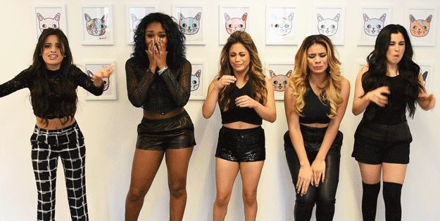 When your favorite TV character gets killed off. | 17 More Fifth Harmony Reaction GIFs