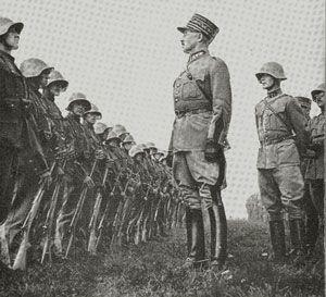 "Swiss Gen. Henri Guisan ""when bullet goes out use the bayonet"""