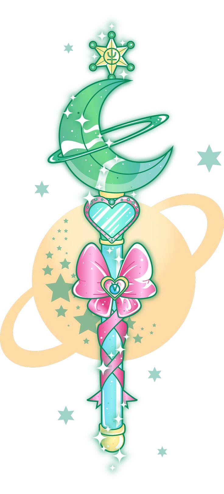 Sugarcoatedunicorns Sailor Neptune Wand With A Little