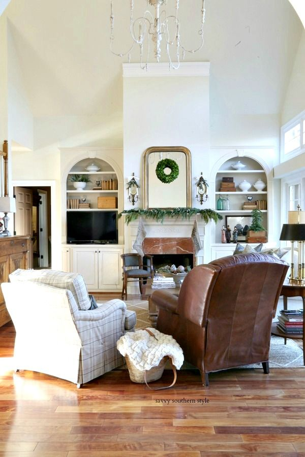 Savvy Southern Style : Christmas Great Room