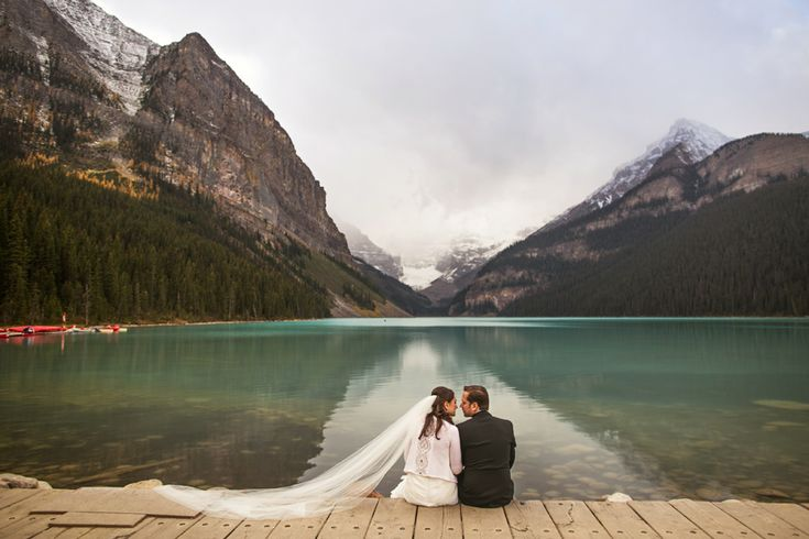 chateau lake louise wedding photographer. {karolina + andrej}