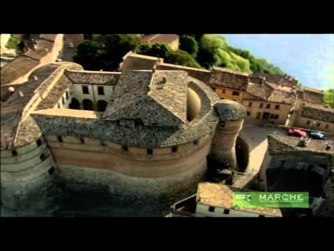 In volo su: Sassocorvaro e Gola del Furlo (PU) - YouTube