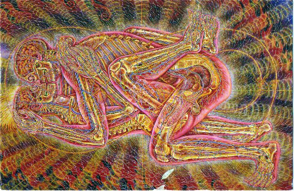 Alex Grey - Copulating