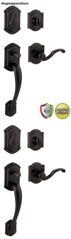 Door Entry Sets 158456: New Handleset Lever Door Knob Lock Set In Black Venetian Bronze Door Key Entry -> BUY IT NOW ONLY: $435.99 on eBay!