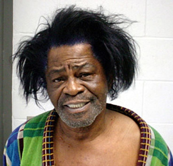 James Brown, in 2004, after his arrest for domestic violence