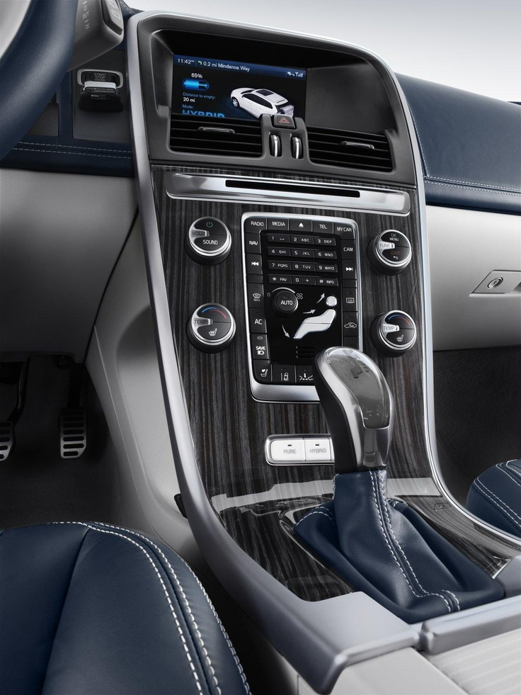 Volvo привезет в Детройт концепт XC60 Plugin Hybrid