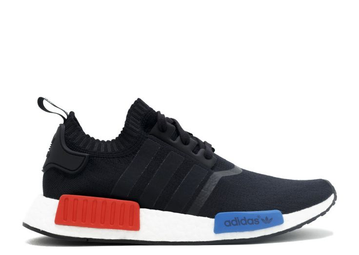 Adidas NMD Runner PK, black, red, and blue