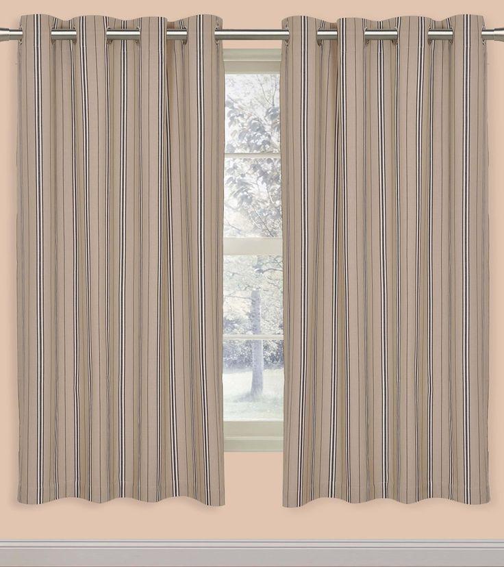 Multicoloured Cotton Striped Window Curtain #indianroots #homedecor #curtain #windowcurtain #cotton #striped