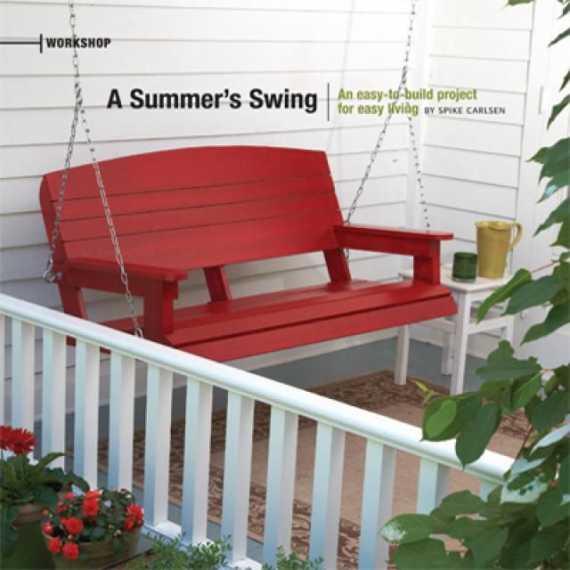 Free front porch swing plans woodworking projects plans for Front porch plans free