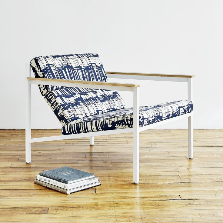 Halifax Chair   Franz Indigo   The Halifax is a contemporary accent chair  with a laid. 117 best Gus  Modern   Chairs images on Pinterest