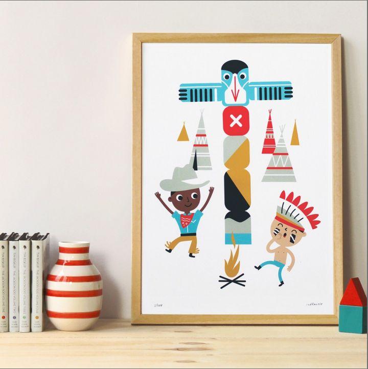 Makii Art Prints: Leuk voor in de kinderkamer! -Markita.nl