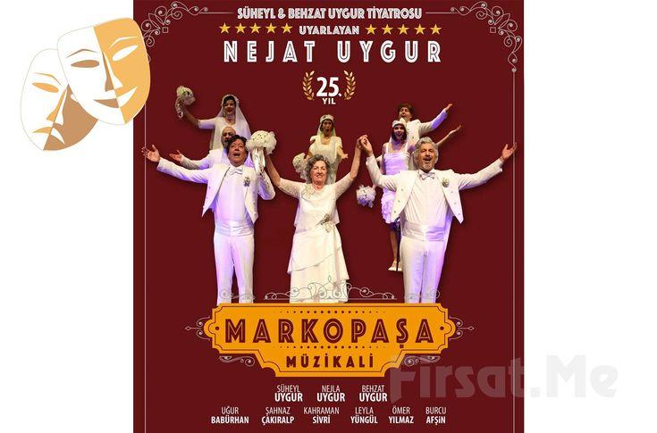 Uygur Kardeşler'den ''Marko Paşa Müzikali'' Tiyatro Oyunu Biletleri! Tiyatro mirasını, Türk tiyatrosunun komedi dalındaki en büyük ustalarından olan Nejat Uygur'dan büyük bir onurla devralan Behzat ve Süheyl Uygur kardeşler, klasik oyunları ''Marko Paşa''yı müzikale dönüştürüyor!