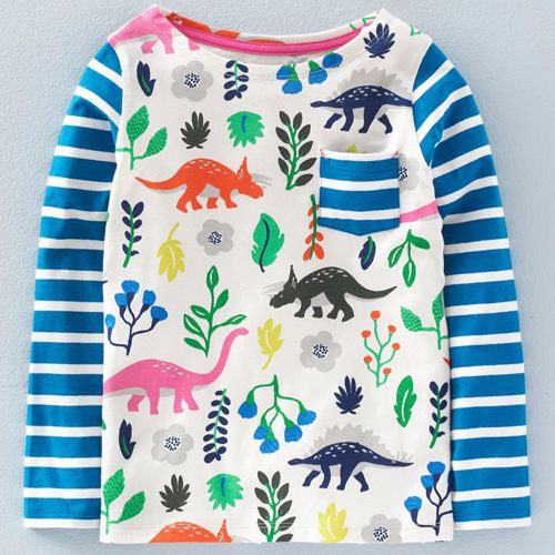 print & pattern blog - new season by dinosaur print by mini boden