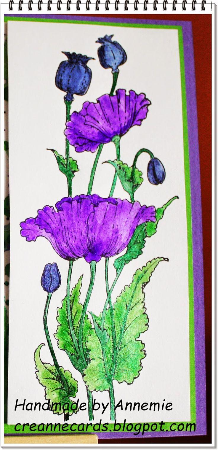 Creanne Cards: Chocolate Baroque