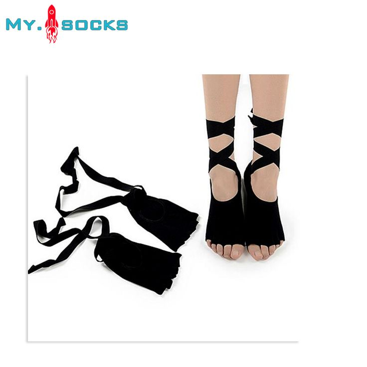 2017 8 Colors Women Socks Paired Ladies Gym Leisure Sock Dancing Anti-slip Five Toe Cotton Sock With Ribbon Fast Free Shipping #Affiliate