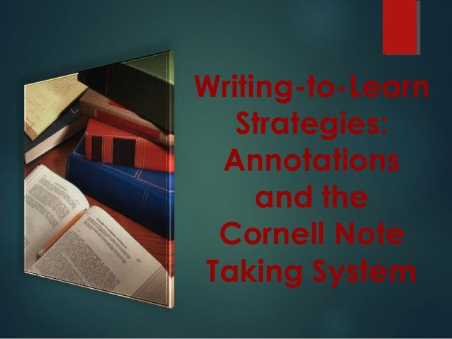 The  Best Cornell Notes Ideas On   Note Taking