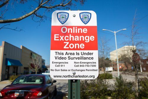 """""""Online Exchange Zones"""" created for citizens buying & selling items - North Charleston"""