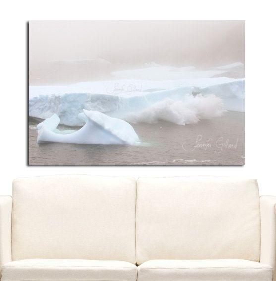 Iceberg Photo Newfoundland art Iceberg art by DreamsandNotions