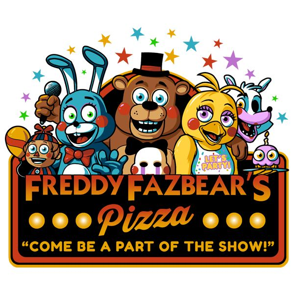 Five Party Costumes City Nights Freddys