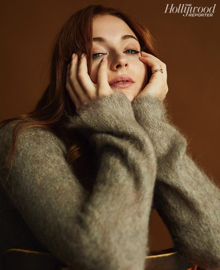 """Waiting for the next #GOT episode like... Sophie Turner on being cast as Sansa Stark at age 13: """"We didn't know what kind of show it was. We didn't know what HBO was. We were kind of jumping into the deep end in the dark."""" Full interview on THR.com. (@ShayneLaverdiere)"""