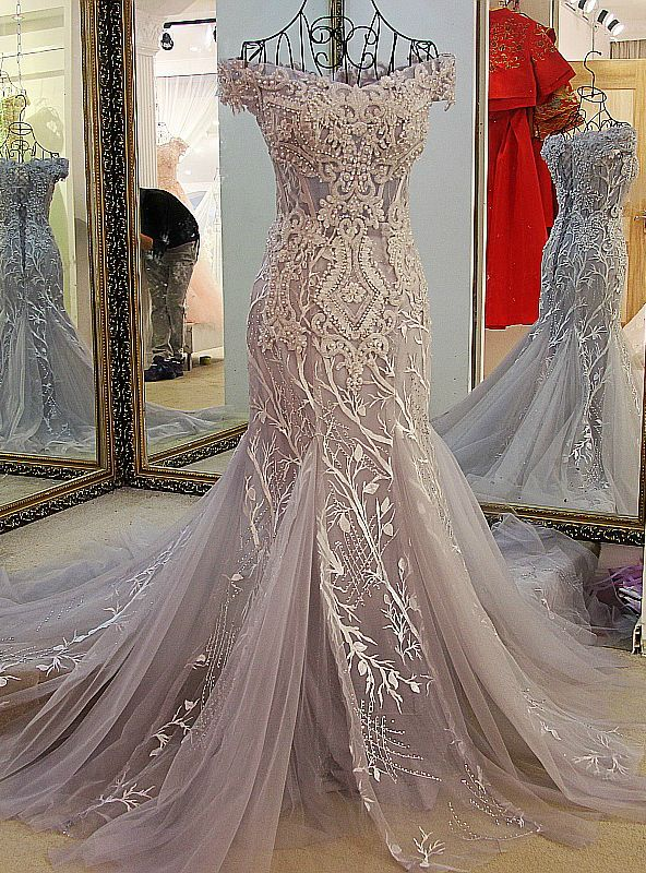 Evening dress lace up back piercings