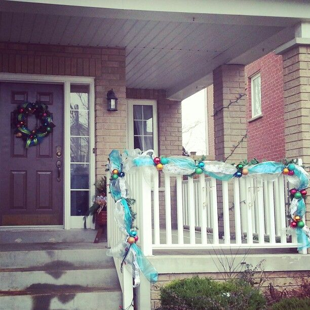DYI Christmas garland and wreath