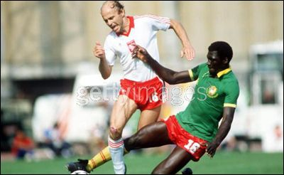 Group stage,3rd World Cup for Grzegorz Lato,Poland vs Cameroon 0-0