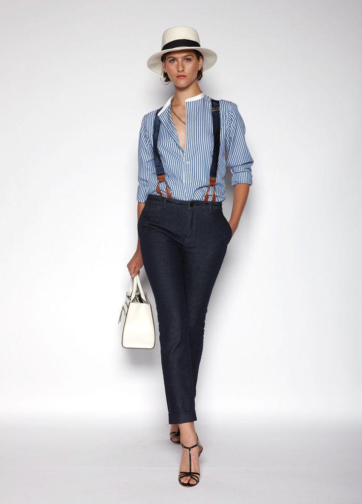 Polo Ralph Lauren Spring 2016 Ready-to-Wear Fashion Show. Printemps 2016 Prêt-à-porter #mode #fashion