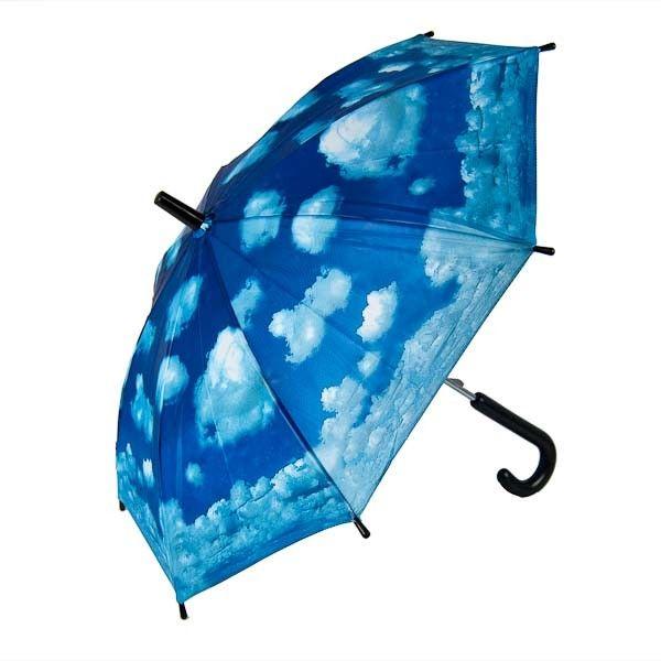 Gara Accessories. Børneparaply med skyer på himlen  - Køb kvalitet til en god pris