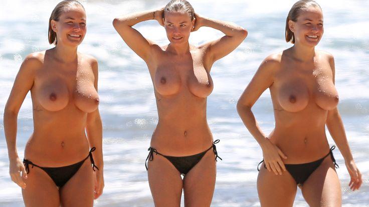 Lara bingle nude in the shower