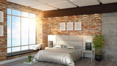 Luksusowa sypialnia dla miłośników świetlistych przestrzeni