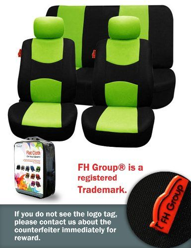 Green Seat Cover