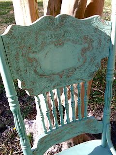 Pressed Back Chair