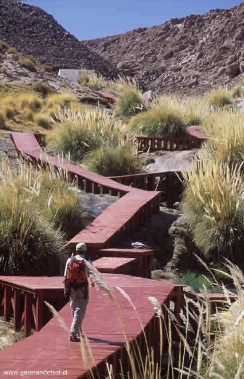 Termas geométricas, Parque Nacional Villarrica, Panguipulli, Chile_Germán del Sol