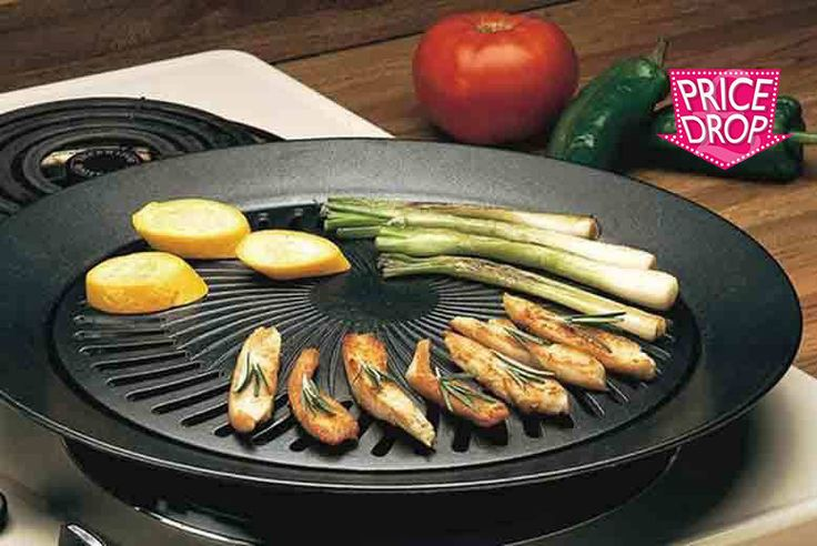 Smokeless Indoor BBQ Grill deal in Cookware & Utensils Get British summer ready with this smokeless indoor BBQ grill.  For electric, gas, or propane stoves.  Sears your food to juicy perfection.  With an outer ring that fills with water to prevent smoke and splatters.  High quality, non-stick surface for mess-free cooking and clean-up. BUY NOW for just £5.00