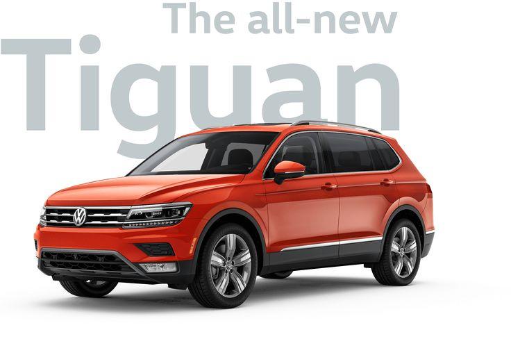 2018 VW Tiguan Mid-Size Sporty SUV | Volkswagen
