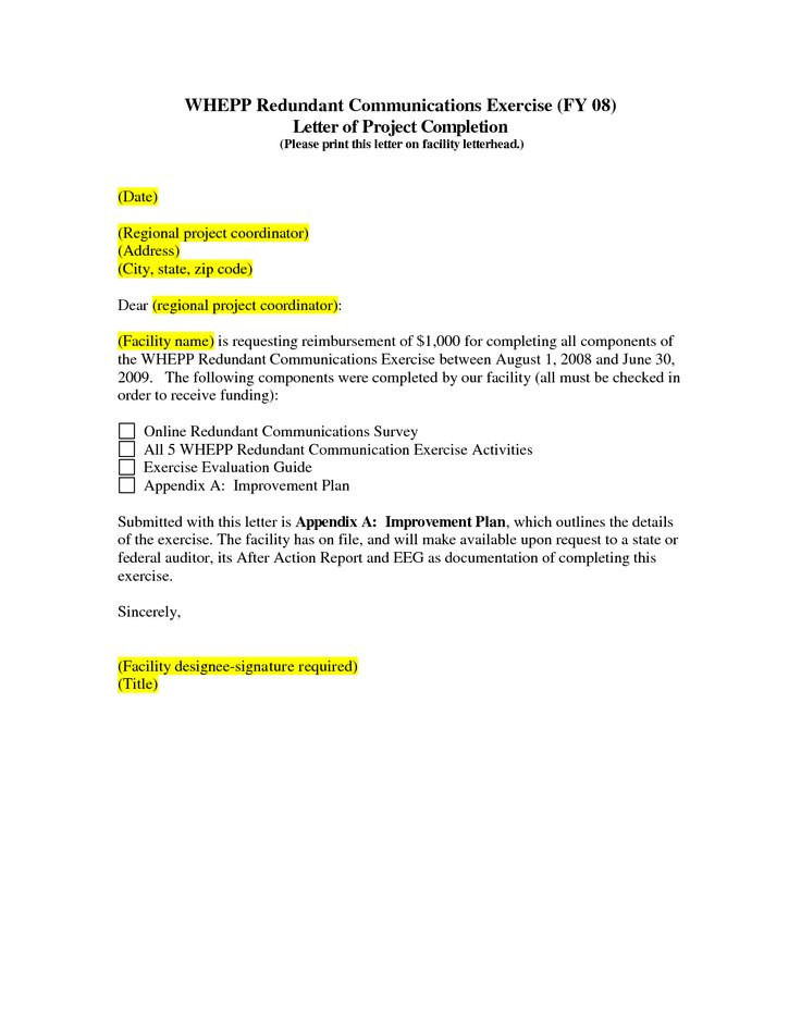 certificate template construction project completion letter sample - project completion report