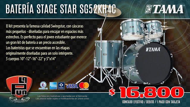 La Púa San Miguel: Batería TAMA Stage Star SG52KH4C