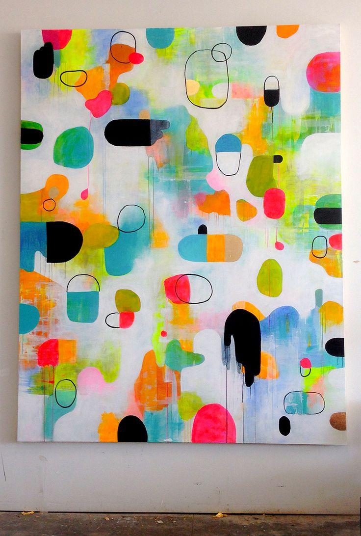 """The Horse"" // Lisa Congdon, 2015 // 7x9 feet"