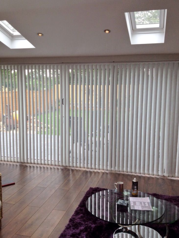 Vertical Blinds For Folding Doors Work Blinds Folding Doors Curtains
