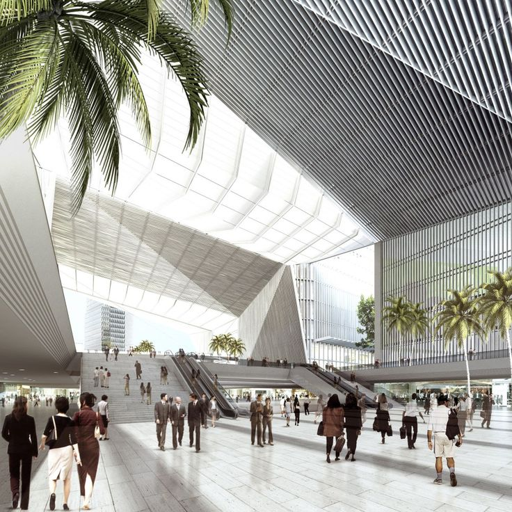 Qianhai Integrated Transportation Hub / gmp Architekten