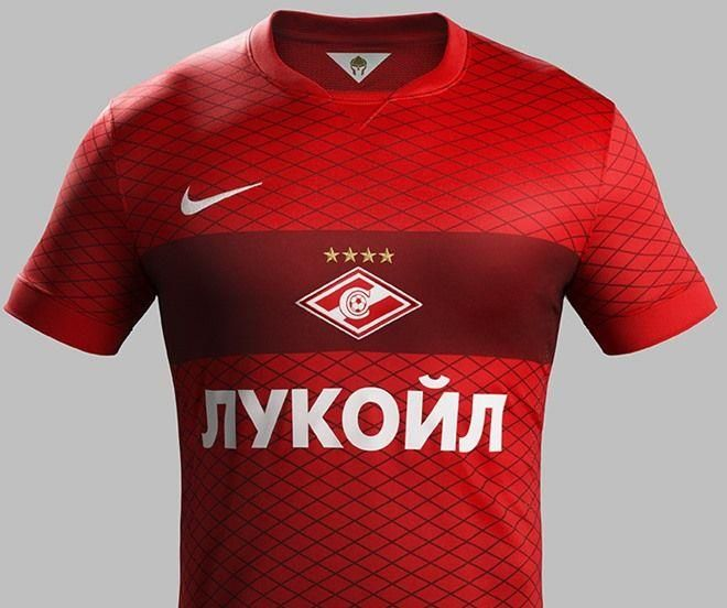Игровая футболка спартак москва