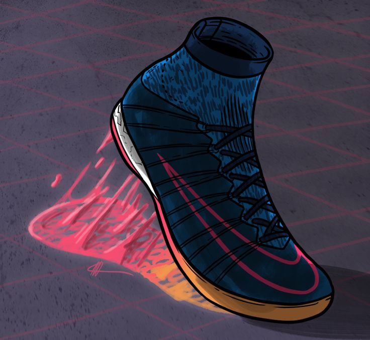 Football Art - Nike Football X
