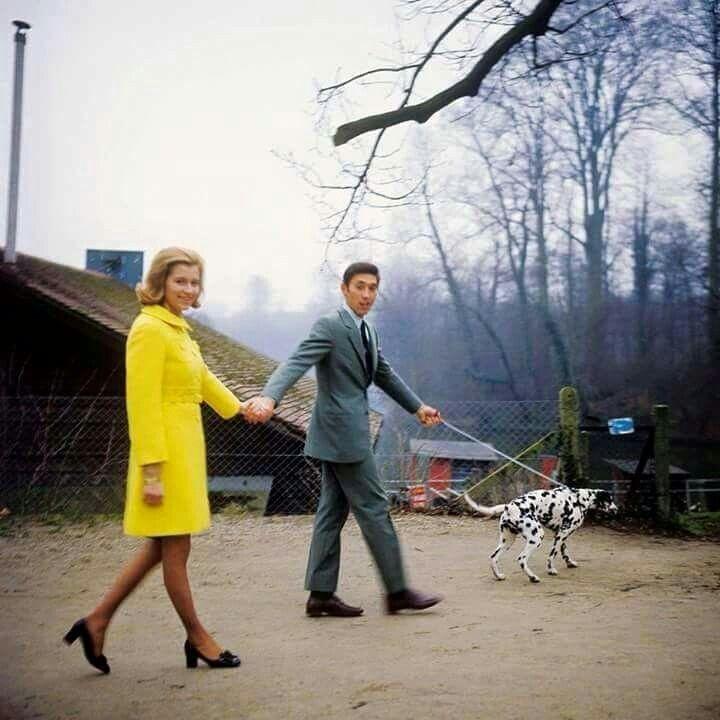 Eddy Merckx pas en jaune... mais sa femme Claudine est en ...